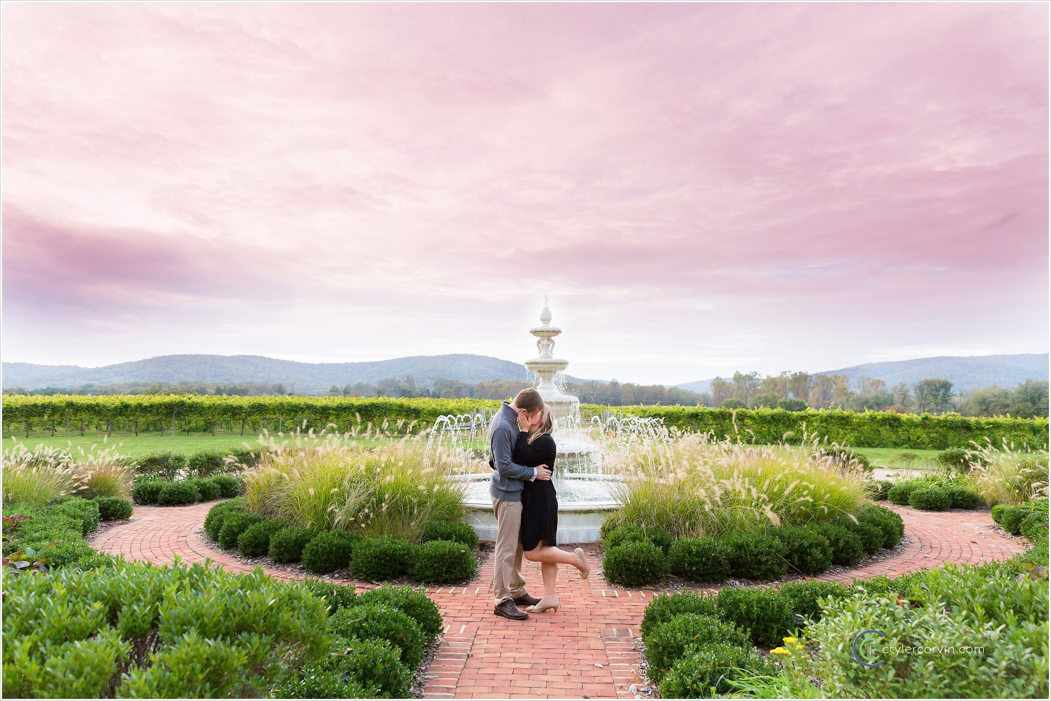 Keswick Vineyards, Charlottesville, Virginia Va wedding