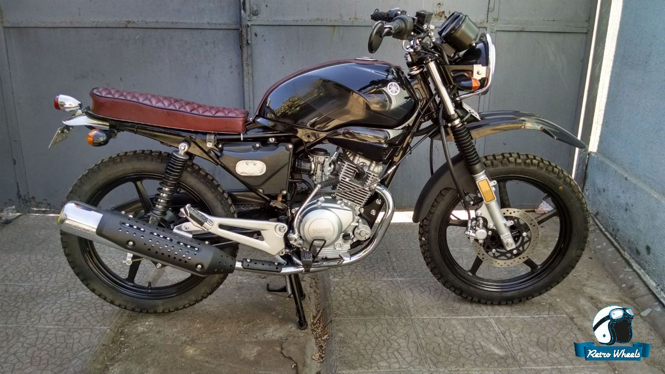 cafe racer scrambler ybr 125 motor pinterest search. Black Bedroom Furniture Sets. Home Design Ideas