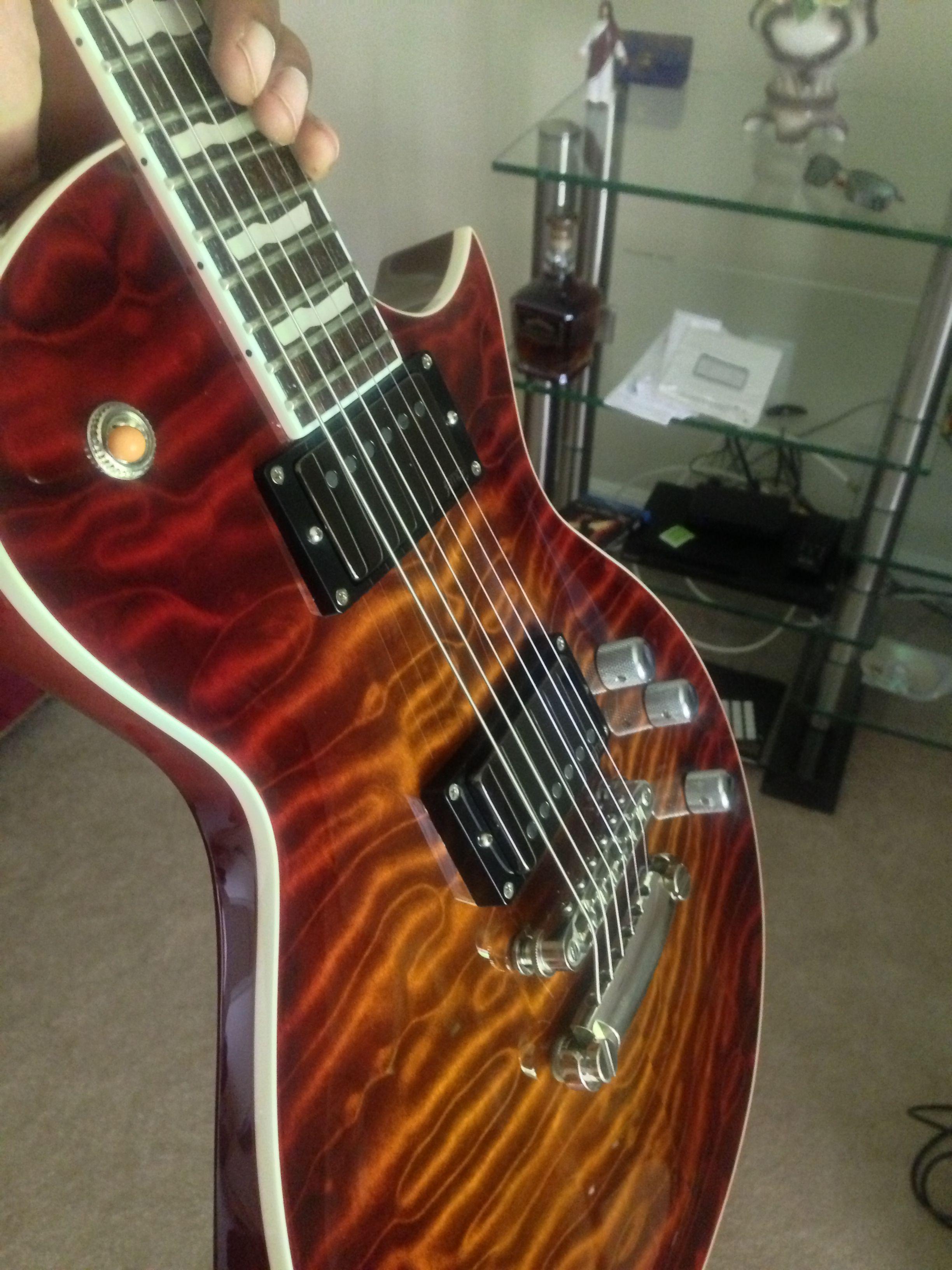 My ESP Eclipse II with EMG JH set Dream guitars