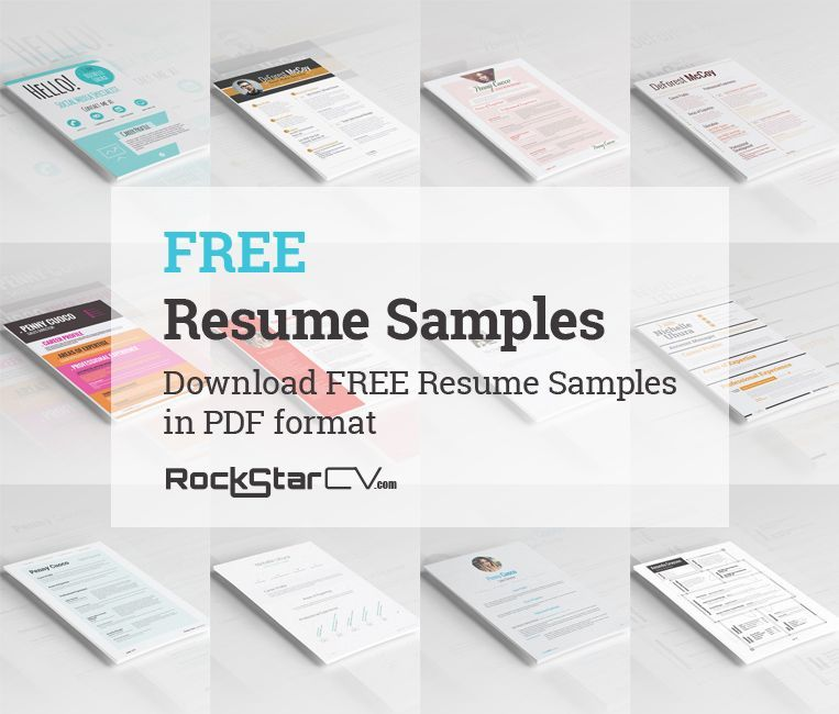 Download Free Resume Samples In Pdf Format  Resume Templates