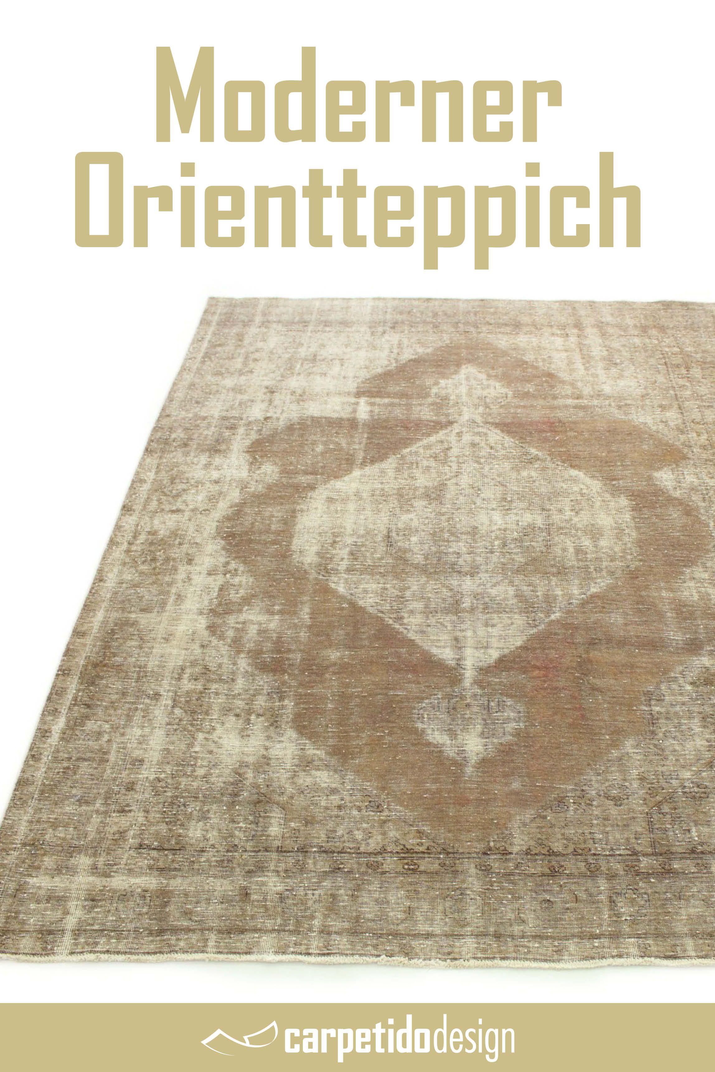 Design Vintage Teppich Sand Braun Grau In 320x250 Vintage