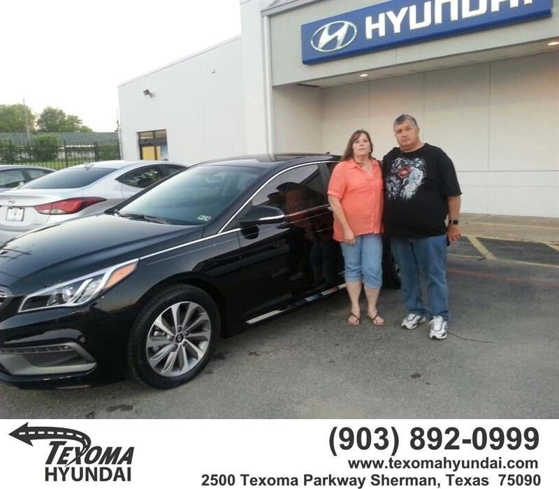 Happy Anniversary to Terry on your #Hyundai #Sonata from Roy Oates