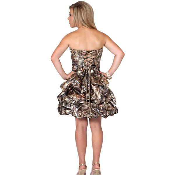 Camo Prom Dresses Short - Ocodea.com