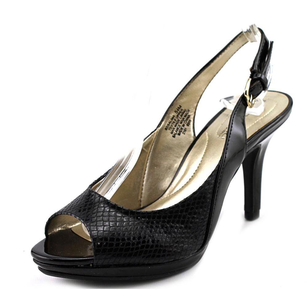 f93dc8fa0c Bandolino Women's Salima Fabric Dress Pump, Black, 9.5 M US. The style name