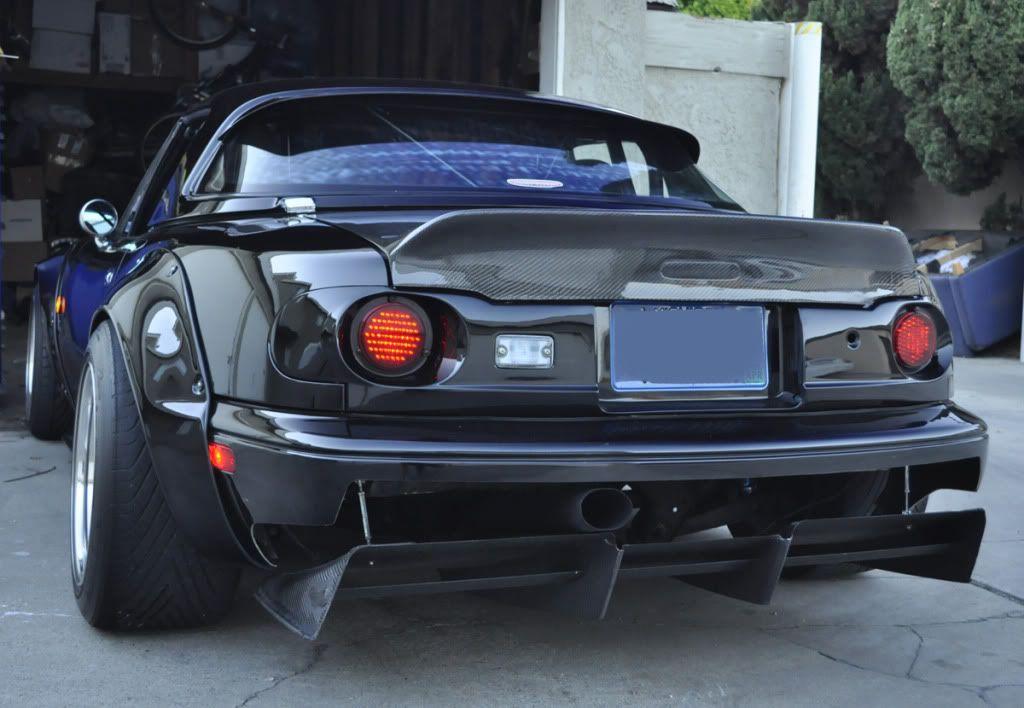Carbon Fiber Car Mobile Garage : Garage vary tail light kit and autokonexion carbon fiber