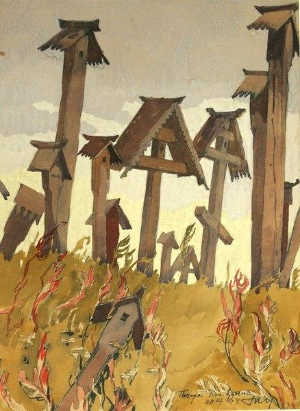 Печора. Усть–Цильма | Деревянные кресты, Картины и Турист