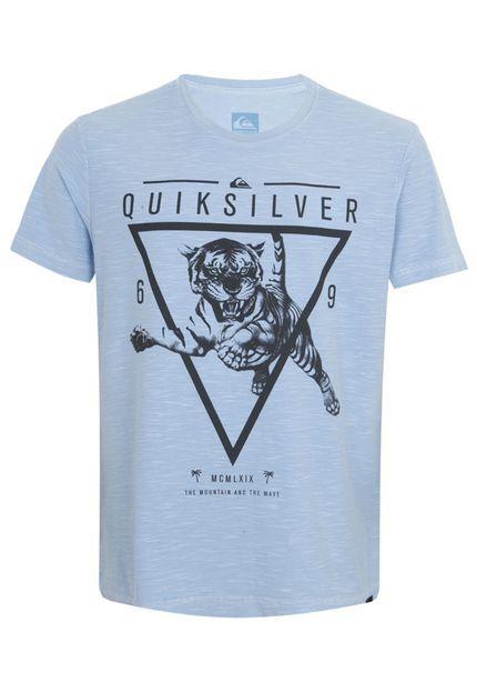 fbee996265b8f Camiseta Quiksilver Slim Fitbig Azul   MANNER TSHIRT   Pinterest ...