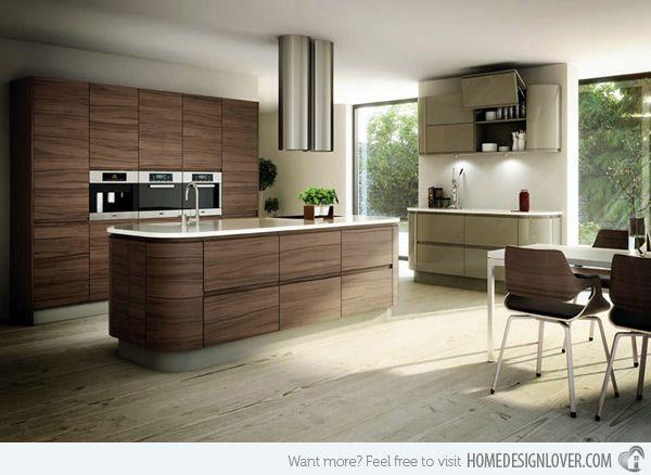 17 Wooden Matte Finished Kitchen Designs  Kitchen Design High Alluring Kitchen Design S 2018