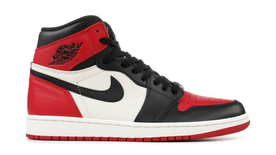 Release Date Air Jordan 1 Retro High Og Bred Toe Air Jordans