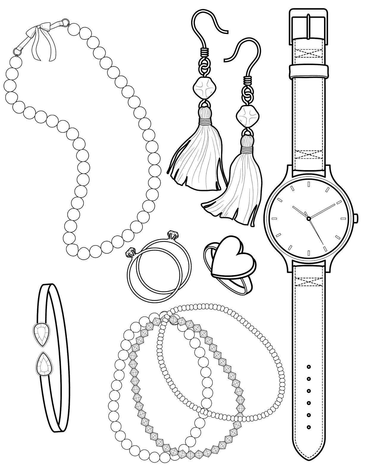 The Spinsterhood Diaries Coloring Page Twofer Beads And Baubles Coloring Pages Star Coloring Pages Wedding Coloring Pages
