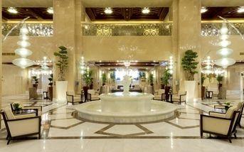 Hilton Suites Makkah Indoor Water Features Indoor Fountains
