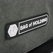 Perfect for the nerdy cyclist with too much loot!    ThinkGeek :: The Bag of Holding Messenger Bag