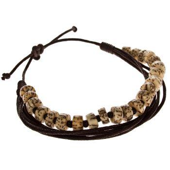 Schmuck CLASSICS77 Nova Bracelet - brown im Online Shop bestellen