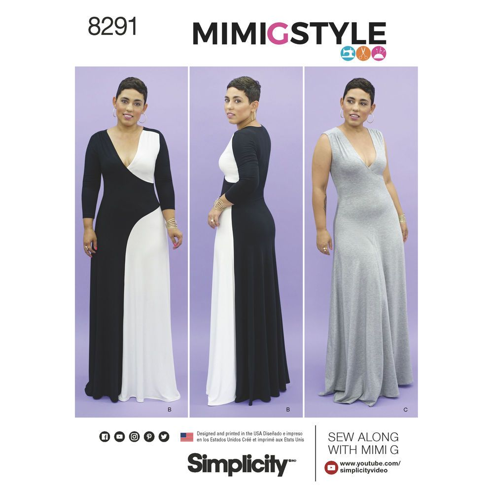 Mimi g style color block knit maxi dress with long sleeves or