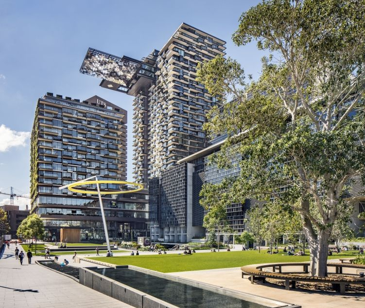 Sydney S One Central Park Wins World Best Tall Building Award