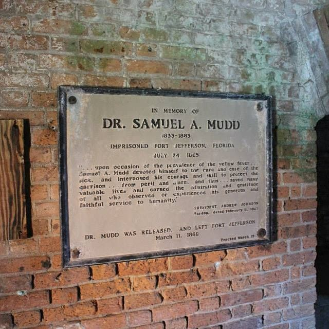 Objective Found The Cell Of Dr Samuel Mudd Imprisoned For His