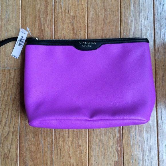 Purple VS Makeup Bag Brand new!! PINK Victoria's Secret Bags Cosmetic Bags & Cases