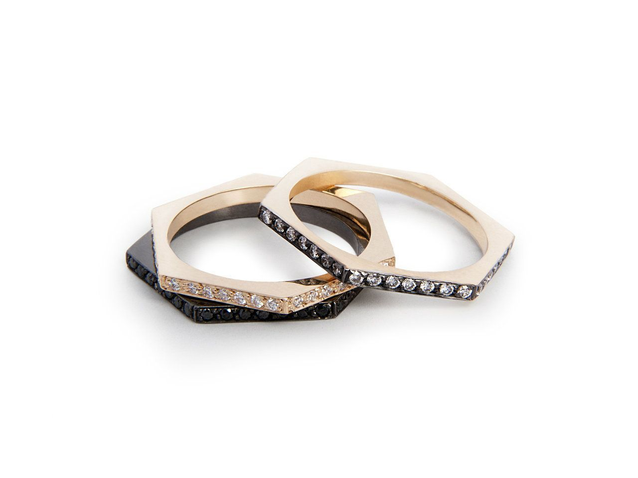 hex band | diamond bands, band rings and diamond