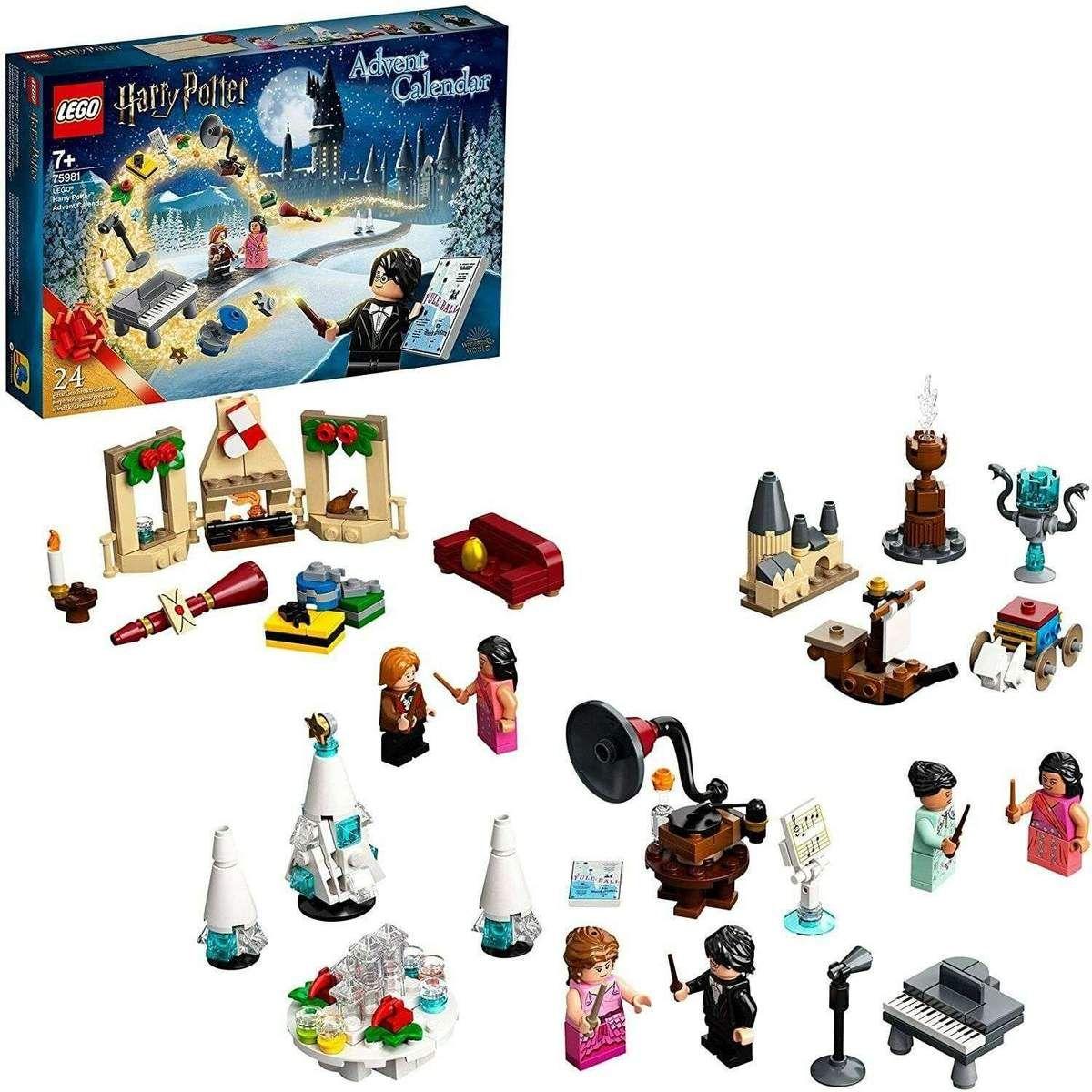 Neu Eingetroffen Lego Harry Potter 75981 Adventskalender Minifiguren Spielzeug Kinder Ab 7 Ja Adventskalender Kinder Kalender Fur Kinder Hogwarts Weihnachten