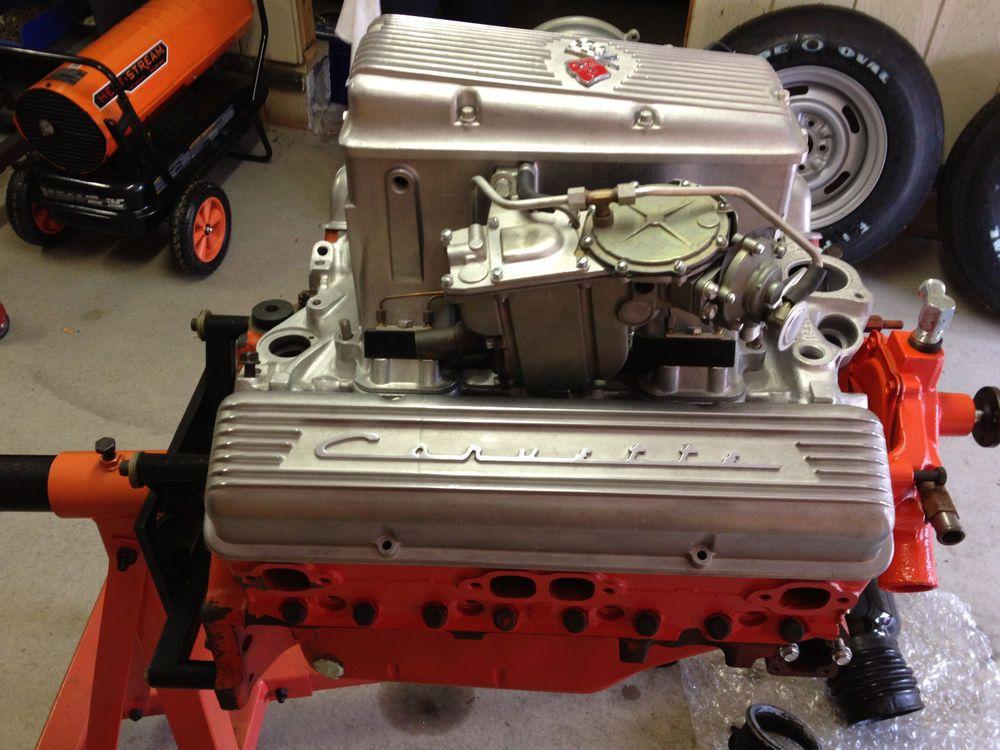 1963 Corvette 327 Fuelie Engine - COMPLETE, ALL REBUILT, FRESH ...