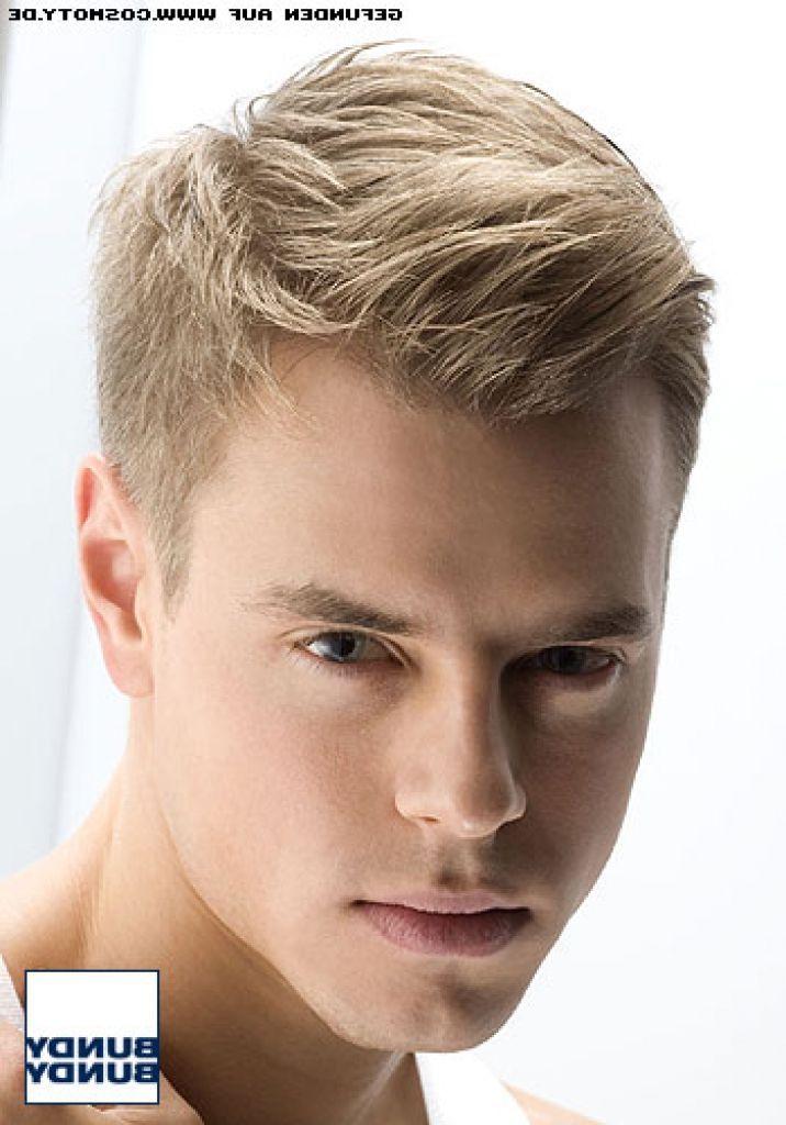 Frisuren Herren Blond Mittellange Haare