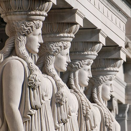 caryatid columns museum of science and industry chicago il