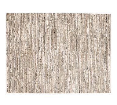 Jennings Leather Rug Leather Rug Rugs Pottery Barn Rugs
