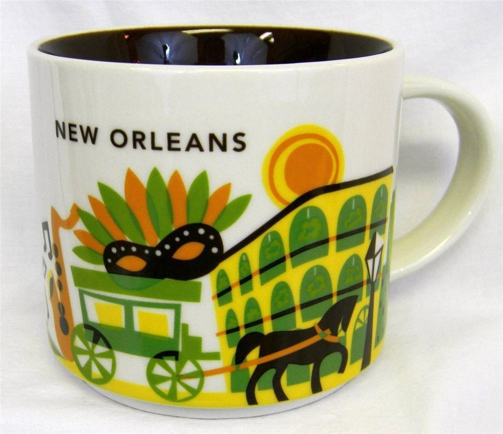 Starbucks Mug New Orleans You Are Here City Collector
