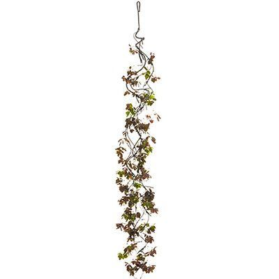 The Holiday Aisle 6' Silk Locust Leaf Garland #leafgarland The Holiday Aisle 6' Silk Locust Leaf Garland #leafgarland