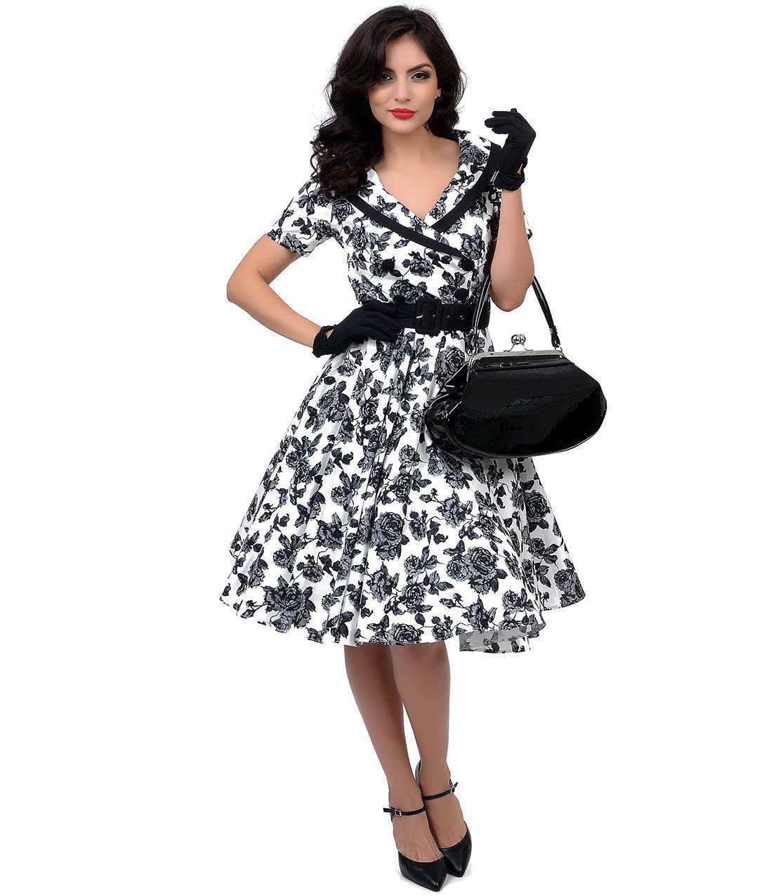 50s Retro Plus Size Dresses