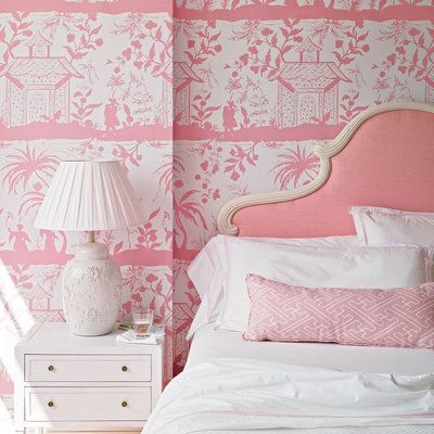 15 Ways to Decorate with Pantone's 2016 Colors of the Year: Don't be afraid to mix and match patterns in the same color. | Coastalliving.com
