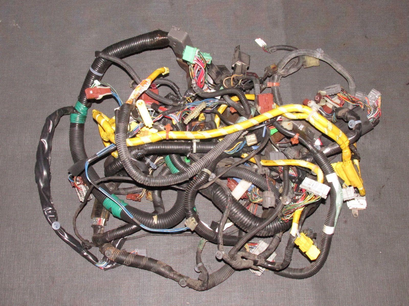 93 94 95 honda del sol oem b16 dash wiring harness [ 1600 x 1200 Pixel ]