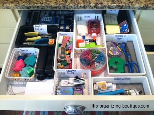 idea office supplies. How To Organize #office Supply And/or Craft Storage Drawers Using Plastic Organizers Idea Office Supplies H