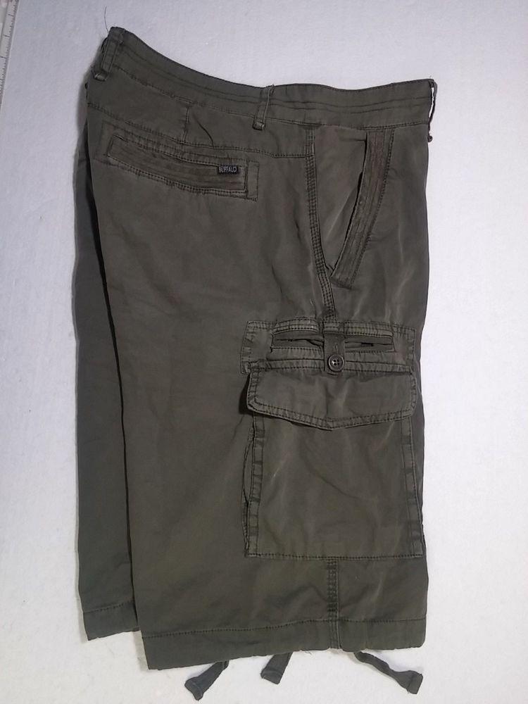 94feeb3d08 For Sale - David Bitton Buffalo Soldier Fade Military Green Mens 32 Cargo  Shorts 3019 #DavidBitton #CargoShorts