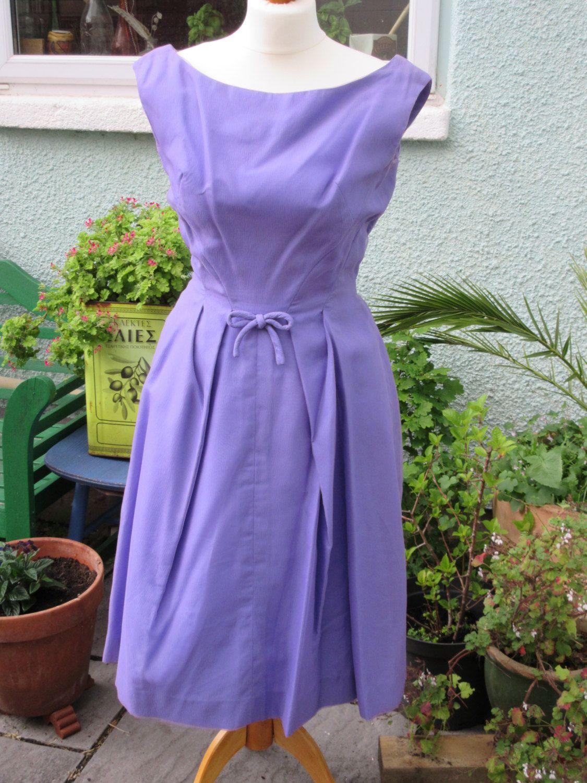 Vintage \'Cresta\' Couture Lilac Gown-1960s- Size 8-10 VGC | Lilacs ...