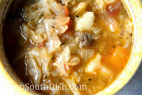 Cajun Cabbage Stew