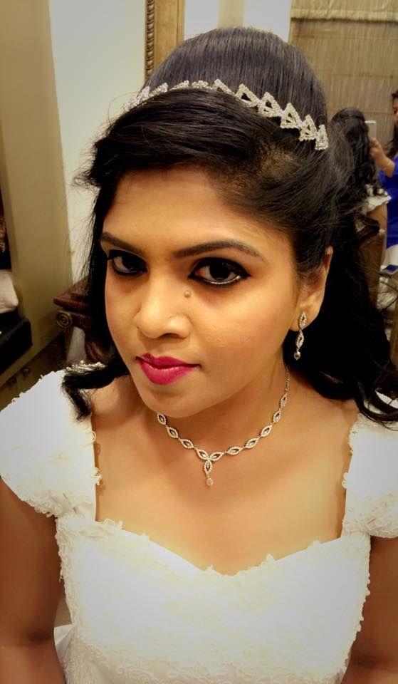 Indian Christian Brides Bridal Makeup Makeover By Swank Studio