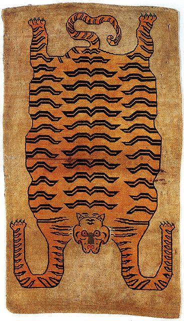 Tibetan Tiger Rug Rugs