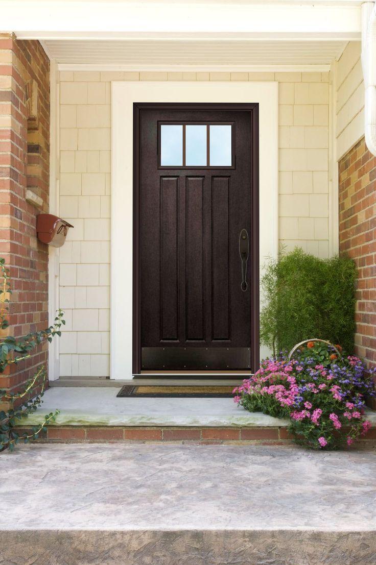 Bronze Kick Plate Front Door Doors Garage Door Design
