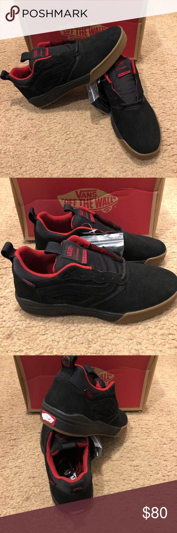 9d014f9d2731 Spitfire UltraRange Pro Vans New in box. Cardiel Black Vans Shoes Sneakers
