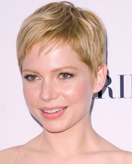 Short Hairstyles For Thin Hair And Round Face Short