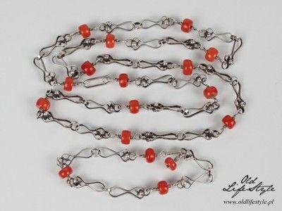 Unikatowy Komplet Orno Koral Antykwaryczny 6833719418 Oficjalne Archiwum Allegro Koral Polish Jewelry Vintage Polish
