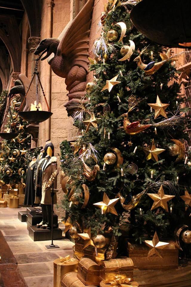 Hogwarts at Christmas   Harry potter christmas, Harry ...
