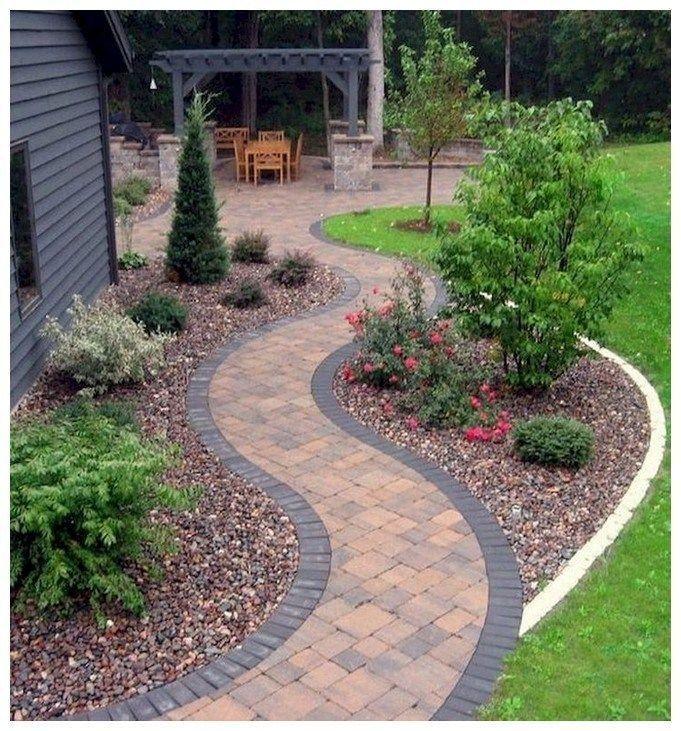 54 stunning front yard courtyard landscaping ideas 1 54 Atemberaubende Ideen fü #smallfrontyardlandscapingideas