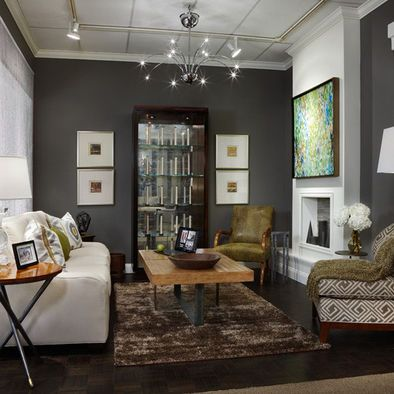 Gauntlet gray sherwin williams design pictures remodel for Sherwin williams living room ideas
