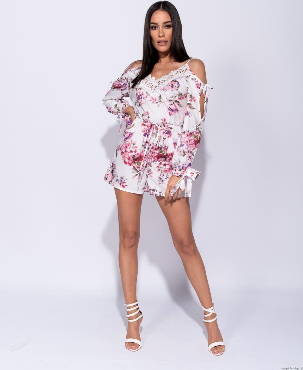 Krotki Kombinezon W Kwiaty Lou Boho Fashion Casual Dress Fashion