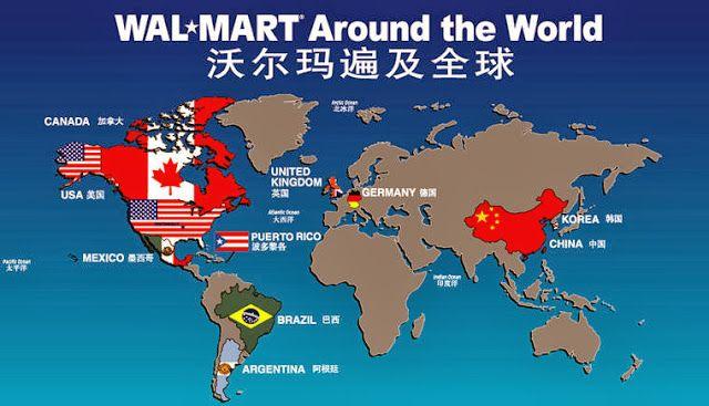 International Walmart Locations