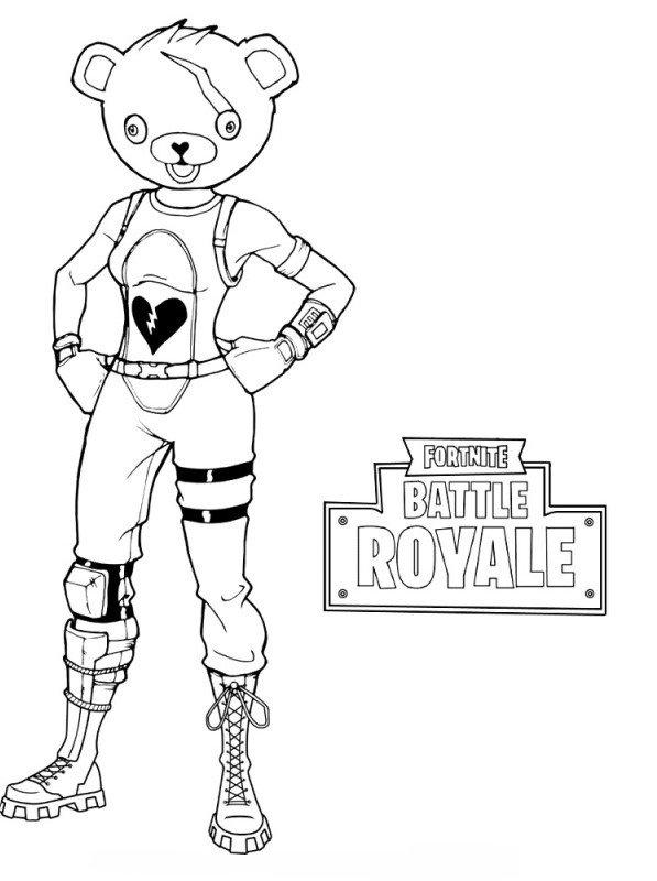Kids N Fun Com Coloring Page Fortnite Panda Cool Coloring Pages Coloring Pages Fortnite