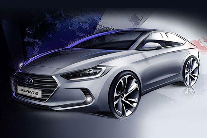 Hyundai Elantra Design Sketch Hyundai Concept Car Design Hyundai Elantra