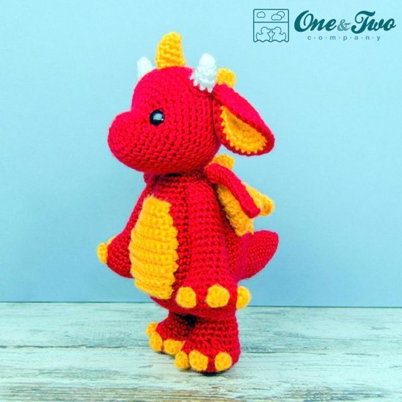 Spring Dragon Free Crochet Pattern - Cool Creativities | 794x794
